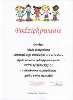 Przedszkole w Szubinie