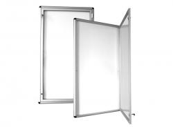 Jednoskrzydłowa szklana gablota informacyjna zewnętrzna